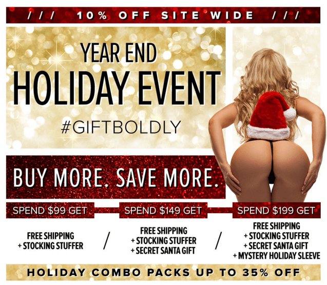 Fleshlight Year End Holiday Event