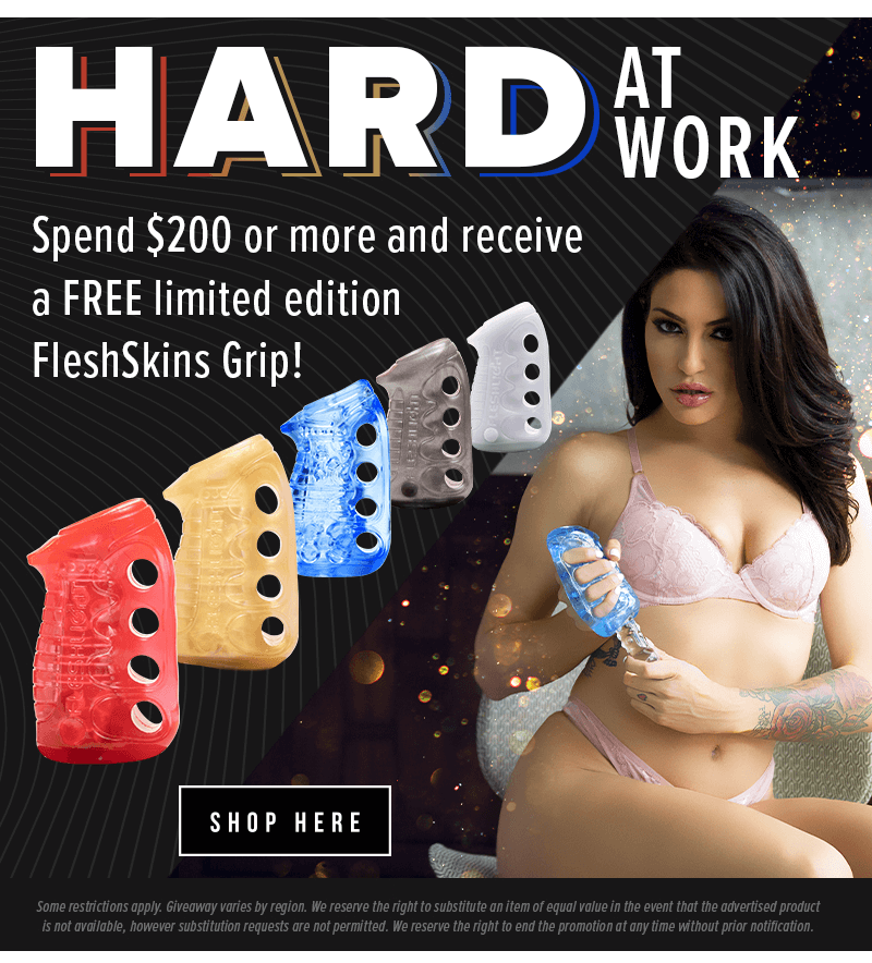 Free Fleshlight FleshSkins Grip