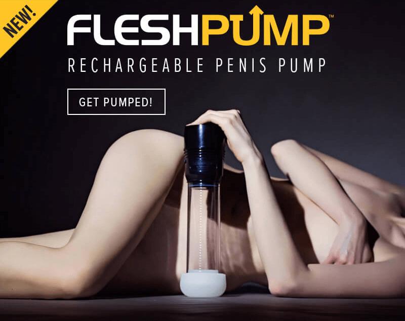 Introducing New Fleshlight FleshPump Penis Pump