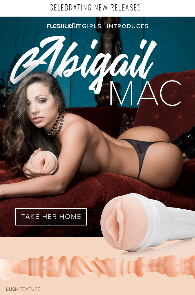 Introducing new Fleshlight Girl Abigail Mac Lush texture