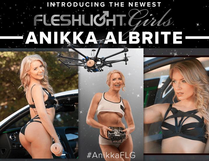 New Fleshlight Girl Anikka Albrite Goddess and Siren textures