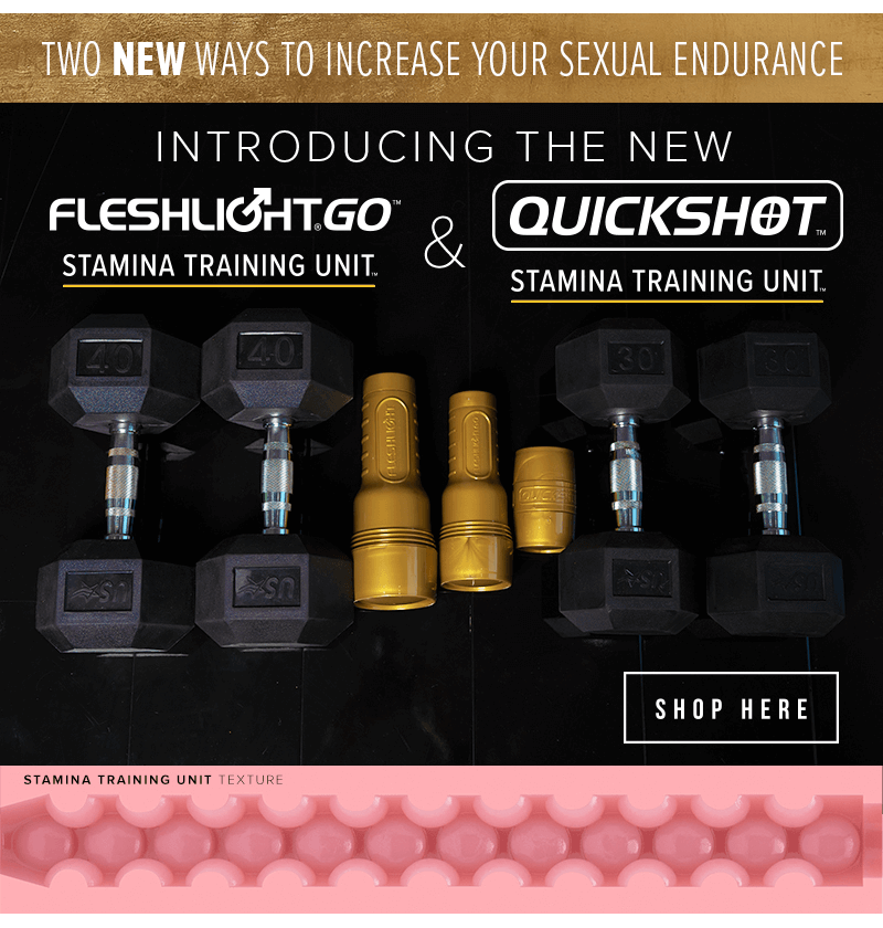 New Quickshot Stamina Training Unit and the New GO Stamina Training Unit