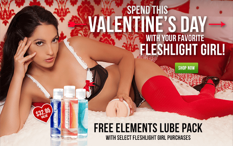 Spend This Valentine's Day With Your Favorite Fleshlight Girl