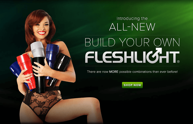 All New Build Your Own Fleshlight