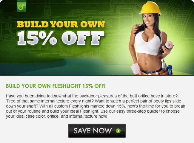 Fleshlight Build Your Own Sale