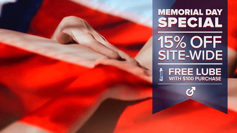 Fleshlight Memorial Day Sale