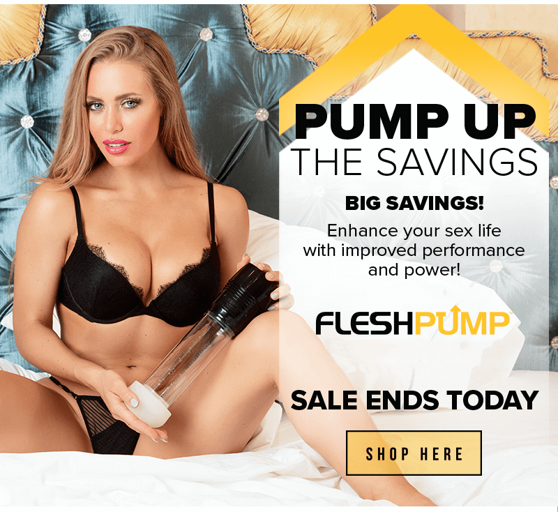 Fleshlight FleshPump Penis Pump