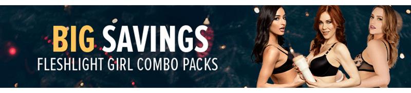 Big Savings on Fleshlight Girl Combo Packs