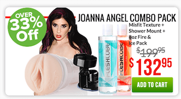 Fleshlight Joanna Angel Combo Pack