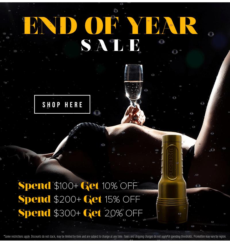 Fleshlight Year End Sale
