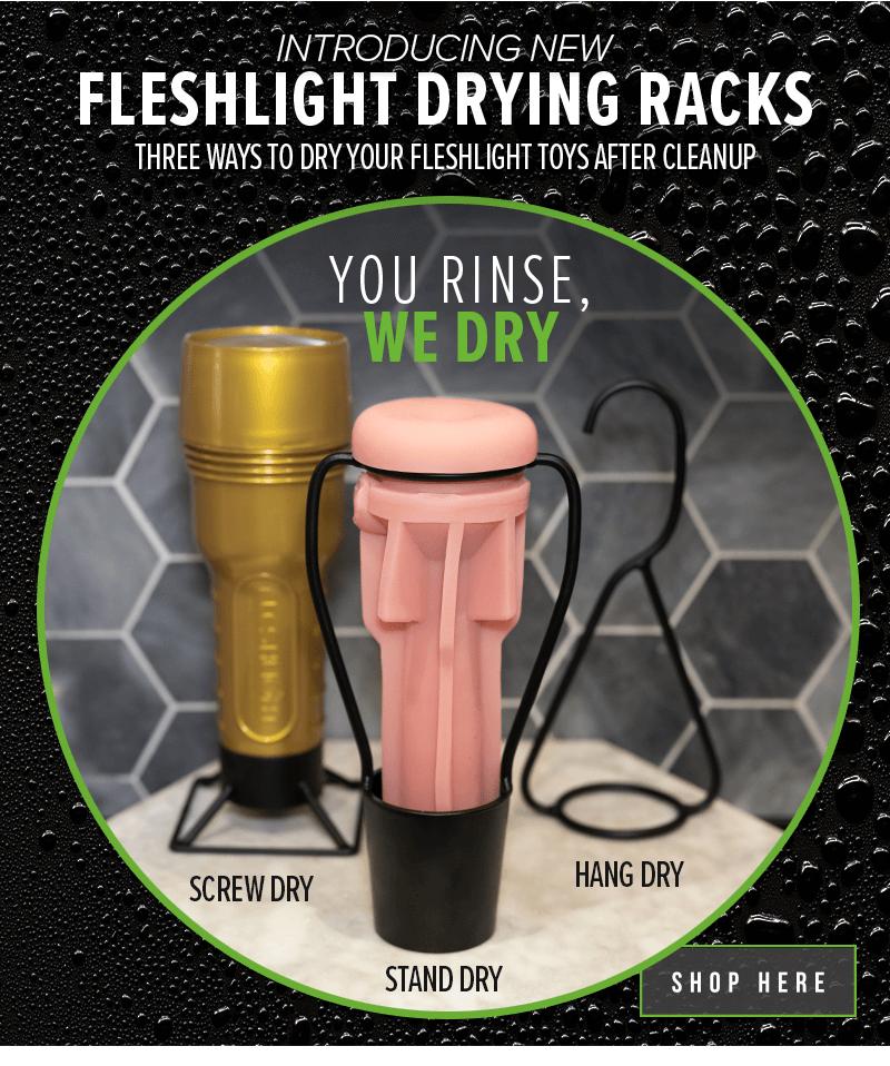Introducing Fleshlight Drying Racks