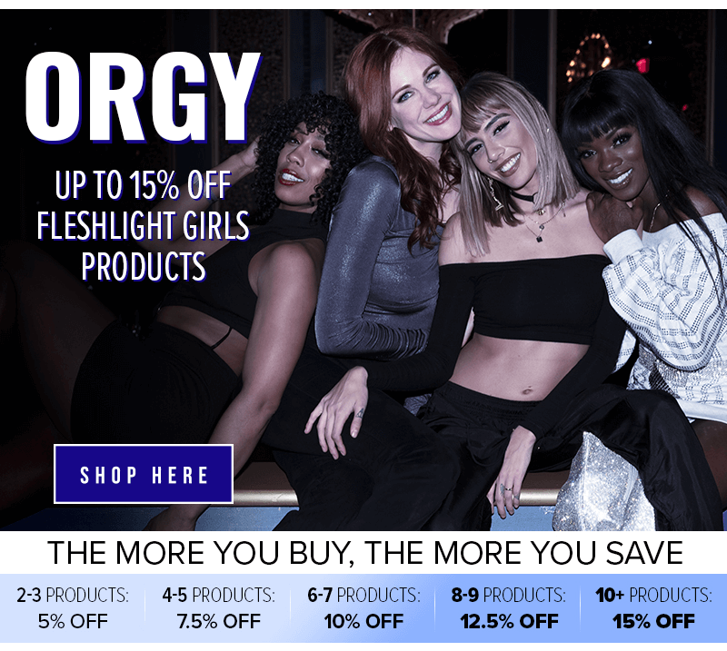 15% off Fleshlight Girls Orgy