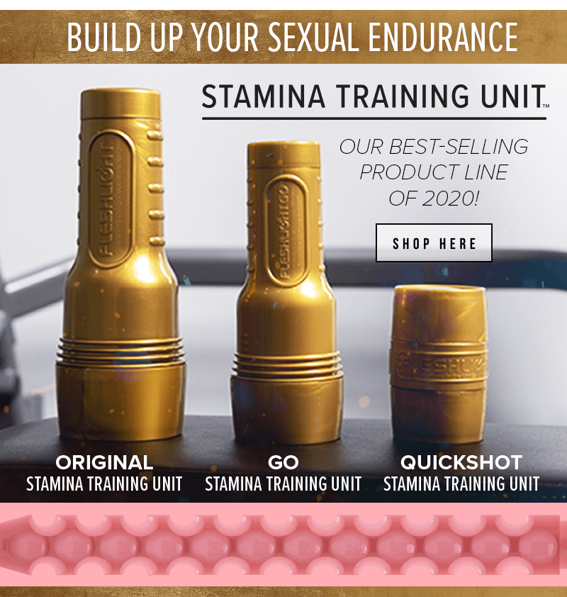 Fleshlight Stamina Training Unit - Last Longer - Best Selling Product Line of 2020.