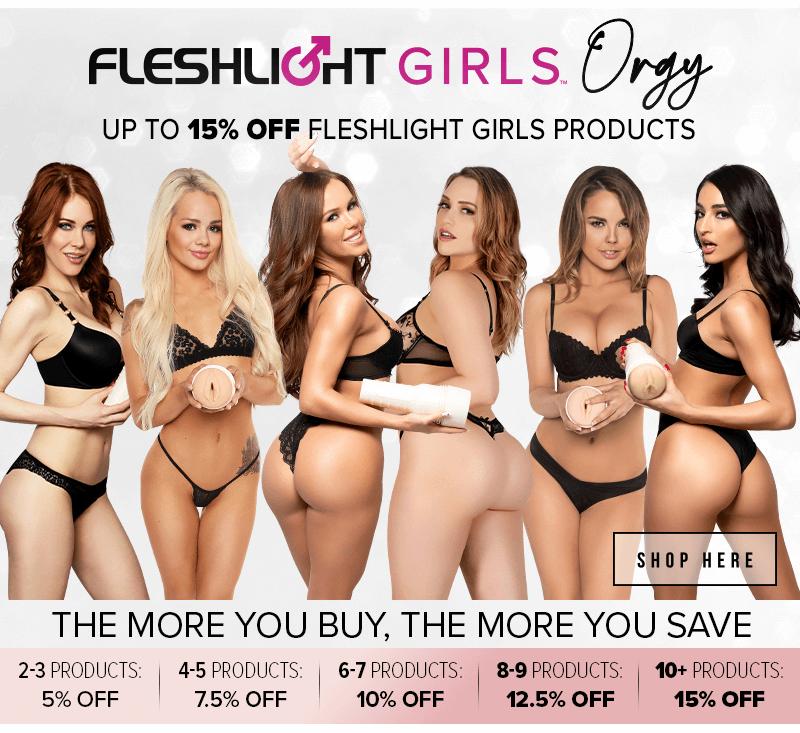 15% off Fleshlight Girls Orgy