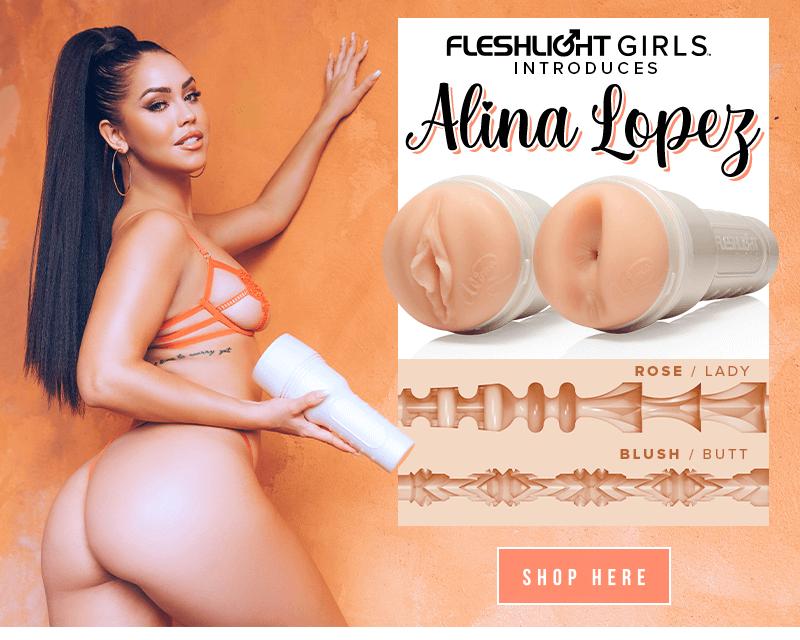 Introducing new Fleshlight Girl Alina Lopez. Rose and Blush textures.