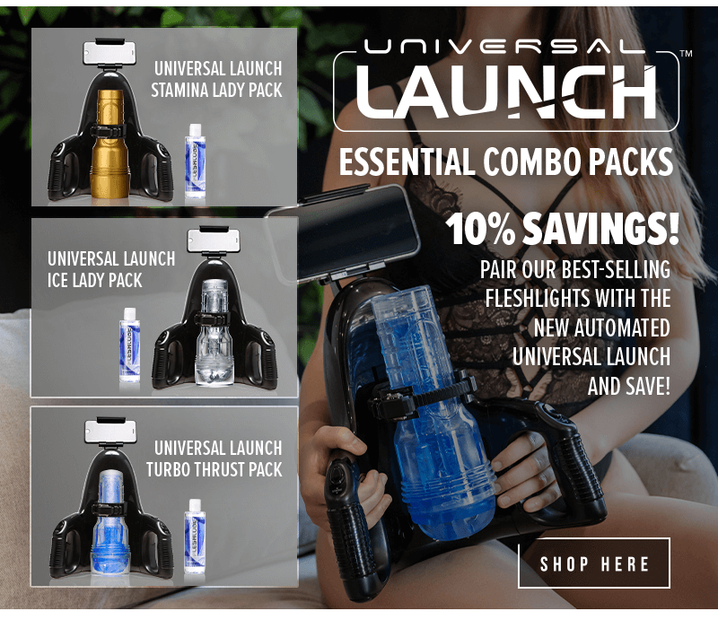 Introducing Fleshlight Universal Launch Essential Combo Packs