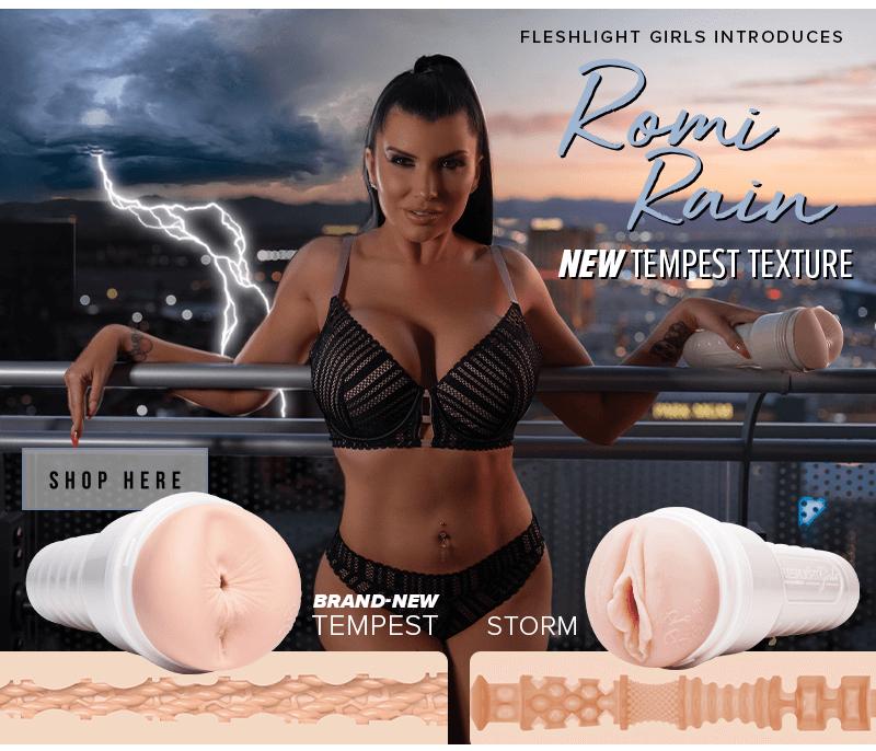 Introducing New Fleshlight Girl Romi Rain Tempest texture