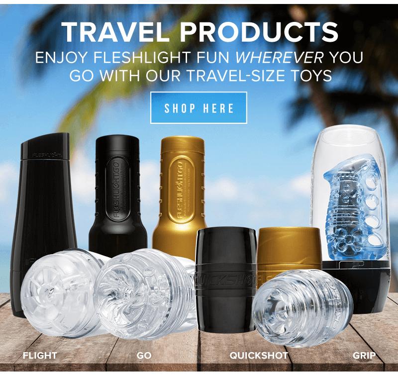Fleshlight Travel Products