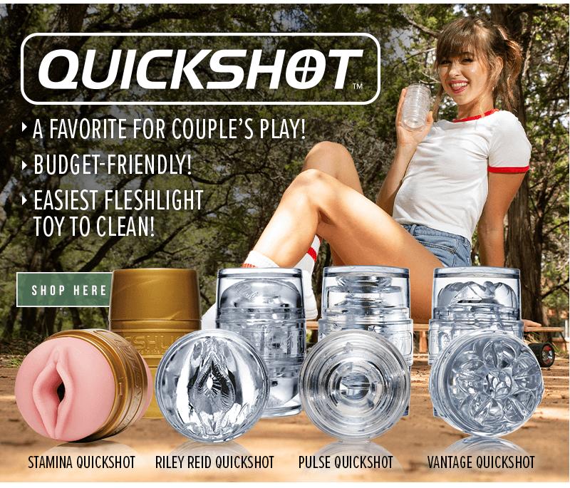 Fleshlight Quickshot - Easy to Clean